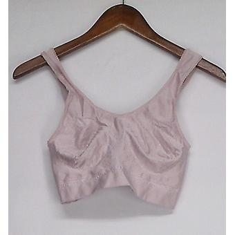Rhonda Shear Diamond Collection Ahh Bra Light Pink Womens