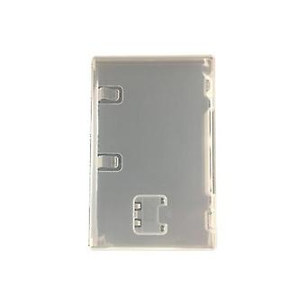 Compatible replacement retail game cartridge case for nintendo switch - 25 value pack clear