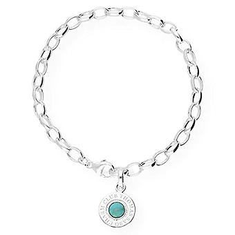 Thomas Sabo Bracelet with Silver Woman Charm - X0229-404-17-L19.5