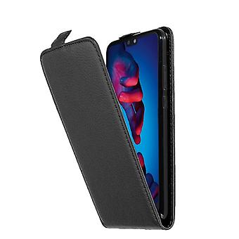 Cadorabo Case for Huawei P20 Case Cover - Phone Case in Flip Design in Textured Faux Leather - Case Cover Case Case Case Case Book Folding Style