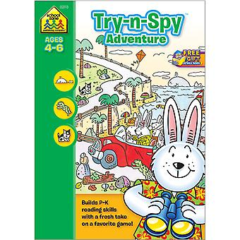 Preschool Workbooks 32 Pages Try 'N Spy Adventure Szpresch 2113