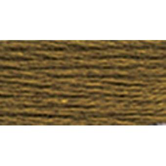 Dmc Six Strand Embroidery Cotton 8.7 Yards Dark Golden Olive 117 830