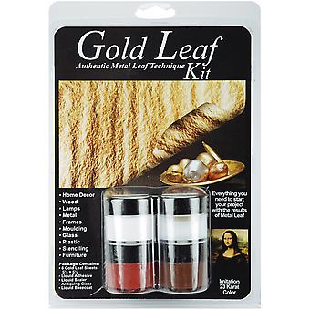Metal Leaf Technique Kit Gold 12204