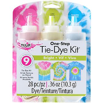 Tulip One Step Tie Dye Kit Brights Tdkit 31678
