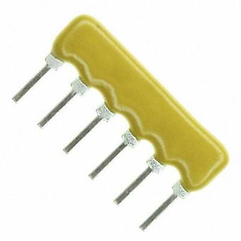 Resistor ladder 1.5 kΩ Radial lead SIP 6 0.2 W Bourns 4606X-101-152LF 1 pc(s)