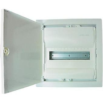 Switchboard cabinet Flush mount No. of partitions = 12 No. of rows = 1 Hager VU12NC
