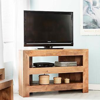 Phoenix Light Mango Corner TV Cabinet