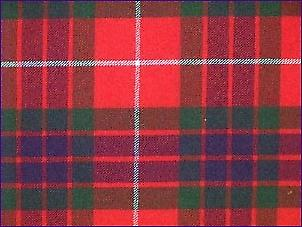 Fraser Red, Modern - Pure Wool Tartan