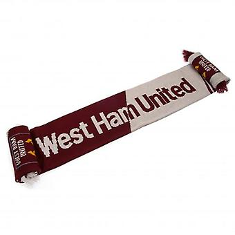 West Ham United Scarf VT