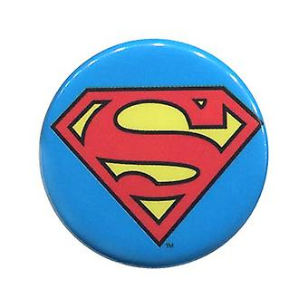 Superman klassiske Logo knap
