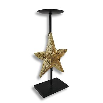 Starfish Pillar Candle Holder Stand
