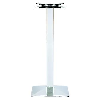 Nuton Chrome Square Base Posuer Table Base
