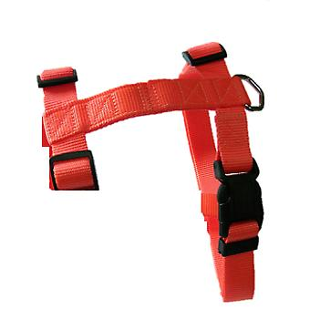 Freedog Harness Nylon Neon Orange Fluor (Dogs , Walking Accessories , Harnesses)