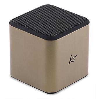 KITSOUND BT Speaker Cube Gold