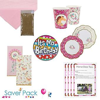 Pony Party Tableware Saver Pack - Option 3