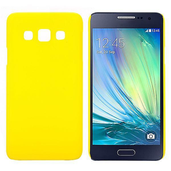 Hard case rubber yellow sleeve for Samsung Galaxy A3 A300 A300F