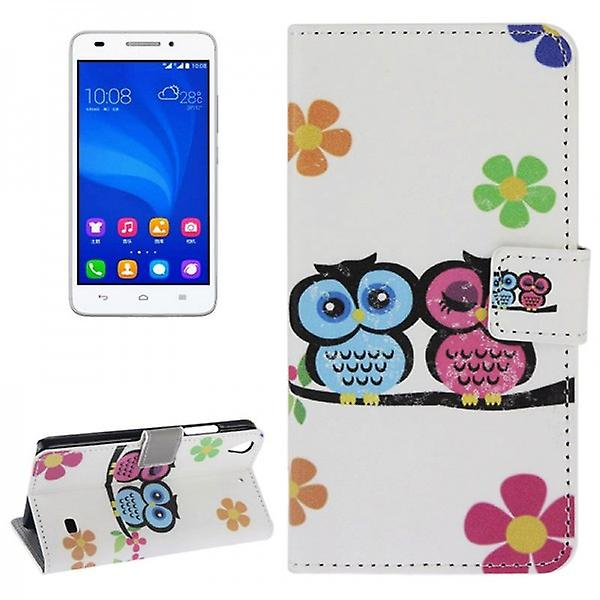Pocket wallet premium model 44 for Huawei Ascend G620S