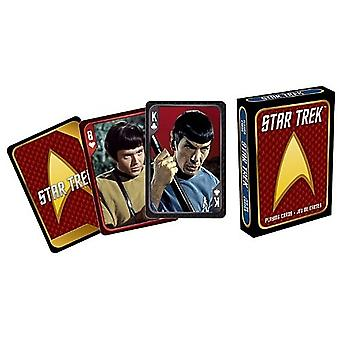 Star Trek Original Cast set of 52 playing cards (+ jokers)    (nm)