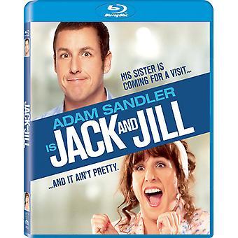 Jack & Jill [BLU-RAY] USA import