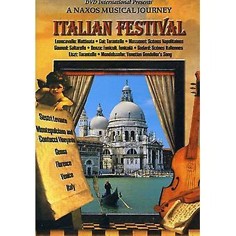 Italiensk Festival [DVD] USA importerer