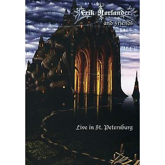 Erik Norlander - Erik Norlander & Friends Live in st. Petersburg [DVD] USA import