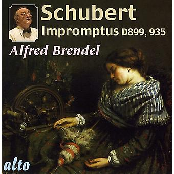 Alfred Brendel - Schubert: Impromptus [CD] USA import