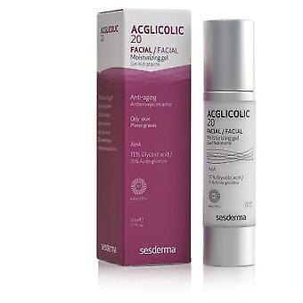 Sesderma Acglicolic 20 fugtgivende Gel (skønhed, Facial, anti-aging, Anti rynke)