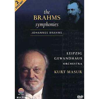 J. Brahms - Brahms Symphonies [DVD] USA import