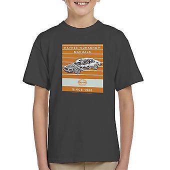 Haynes Workshop manuelle 0765 Saab 900 Turbo Streifen Kinder T-Shirt