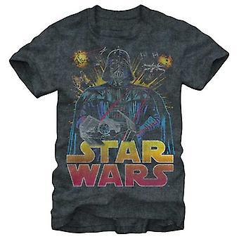 Star Wars Mens Star Wars Ancient Threat T Shirt Charcoal