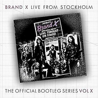 Brand X - Stockholme Marts 30th 1978 [CD] USA importerer