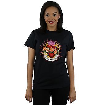 Take That Women's Flaming Heart Boyfriend Fit T-Shirt