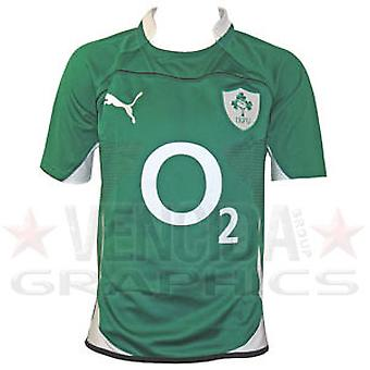 PUMA ireland home pro rugby shirt junior 09/10