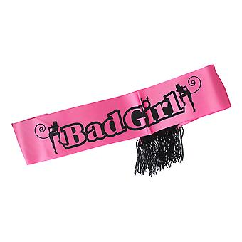 Good Girl Bad Girl Double Sided Party Sash Hen Night Party Night Out