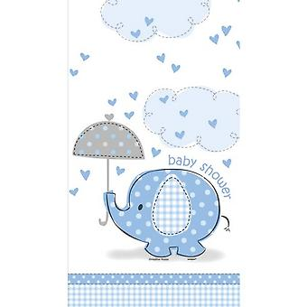 Unique Party Blue Tablecover - Umbrellaphants