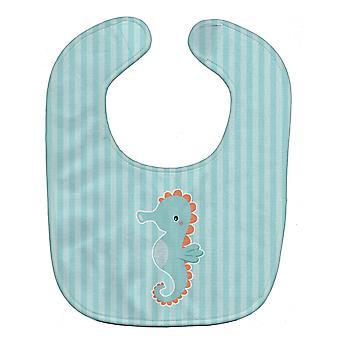 Carolines Schätze BB7124BIB Seepferdchen Baby Lätzchen