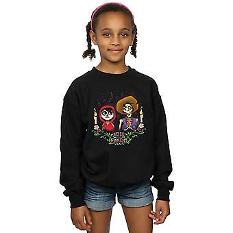 Disney Girls Coco Miguel And Hector Sweatshirt