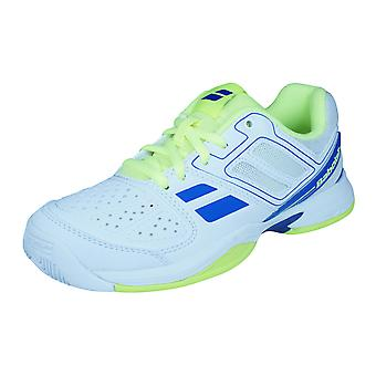 Cud Babolat Pulsion All Court Junior / niños zapatillas tenis zapatos - blanco