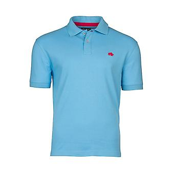 Signature Polo Shirt - Sky Blue