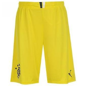 2013-14 Rangers Startseite Torwart Shorts (gelb) - Kids