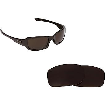 Best SEEK Replacement Lenses for Oakley FIVES SQUARED Brown Red Mirror