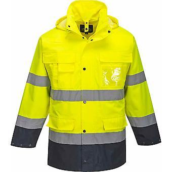 Portwest - Hi-Vis Safety Workwear Lite 3 in 1 Jacket