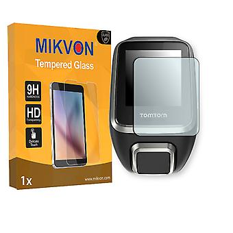 TomTom Golfer 2 Screen Protector - Mikvon flexible Tempered Glass 9H (Retail Package with accessories)