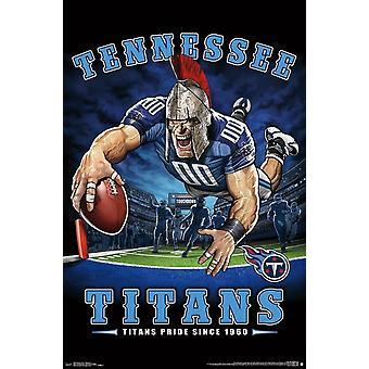 Tennessee Titans - Endzone Poster drucken