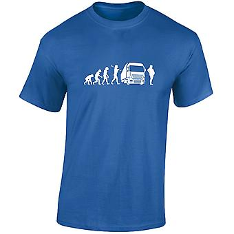 Trucking Evolution goederenvervoer over Mens T-Shirt 10 kleuren (S-3XL) door swagwear