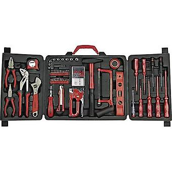 Tool kit with case 61-piece Brüder Mannesmann 290