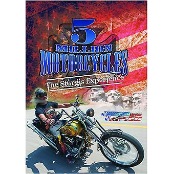 5 millioner motorcykler [DVD] USA importerer