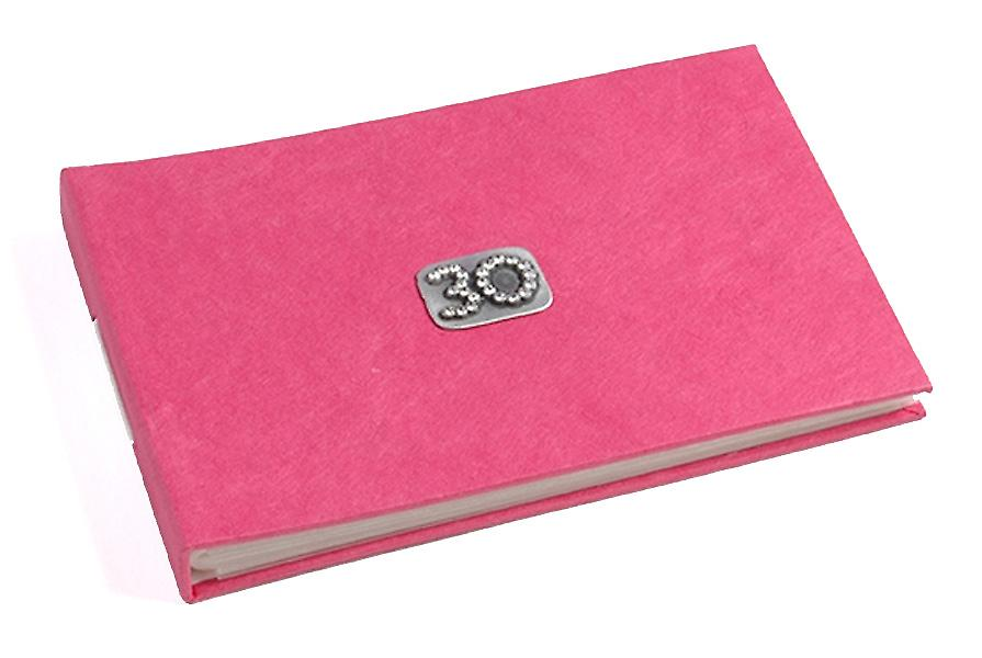 30 Celebration Fushia Pink Pocket Photo Album