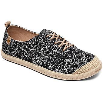 Roxy Flora Lace Up Deck Shoes