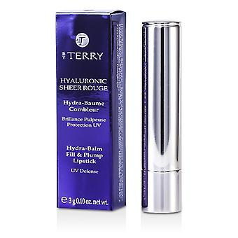 By Terry Hyaluronic Sheer Rouge Hydra Balm Fill & Plump Lipstick (UV Defense) - # 8 Hot Spot 3g/0.1oz